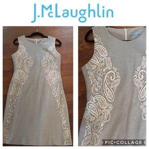 Dresses & Skirts - J. McLaughlin Engineered Lace Print Dress Large